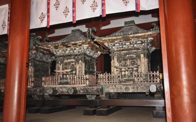 Portable Shrines Hachimangu