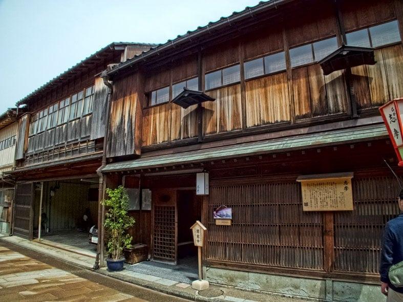 Shima Ochaya in Kanazawa