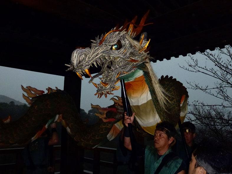 Seiryu-e at Kiyomizudera