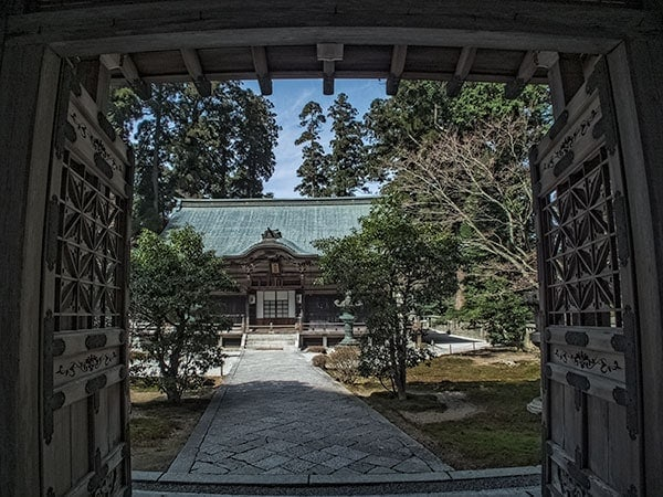 Jodo-in the Mausoleum of Dengyo Daishi built in 854