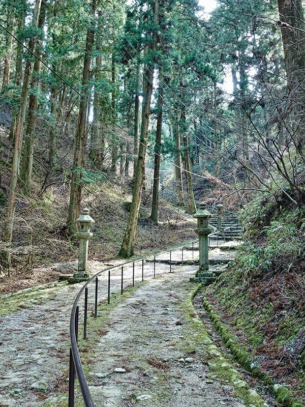 Enryakuji walking paths