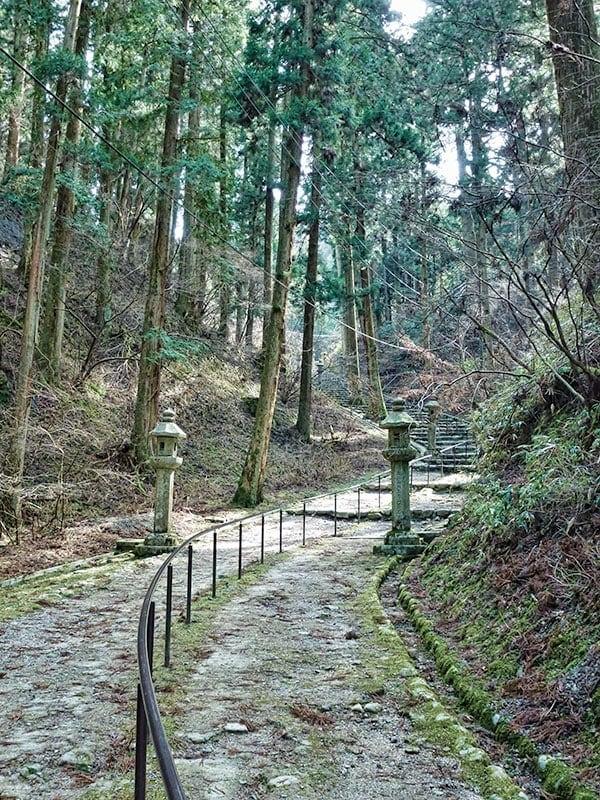 Enryakuji walking paths