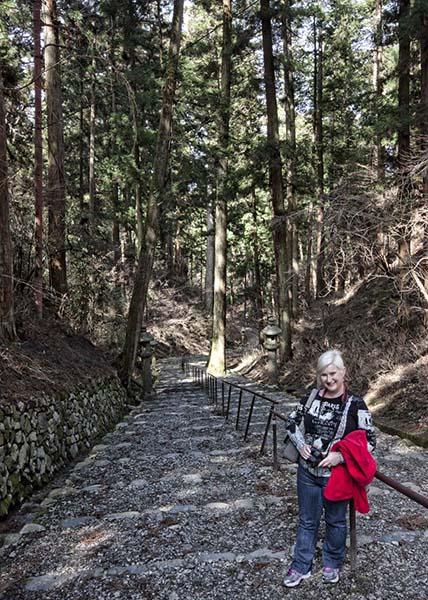 Stairs at Enryukuji