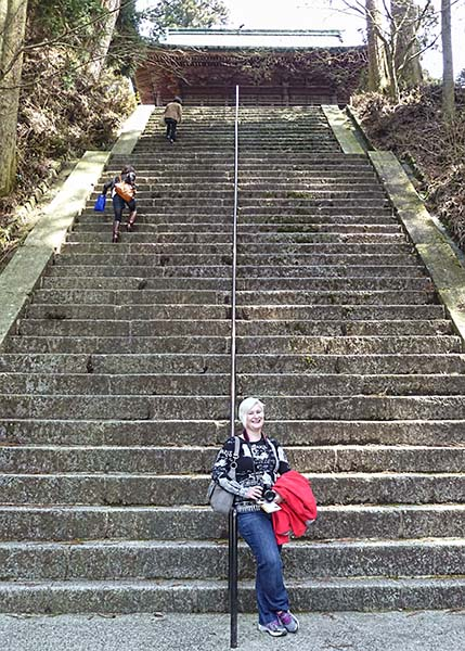 Steps at Enryukuji
