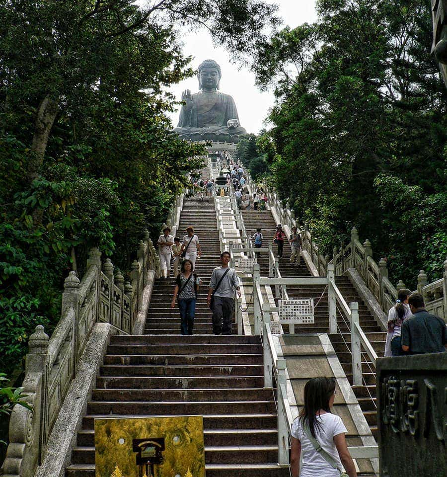 Steps to the Great Buddha