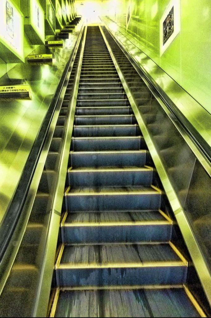 Enoshima Escalators