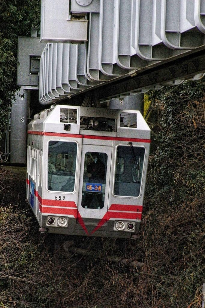 Shonan hanging monorail