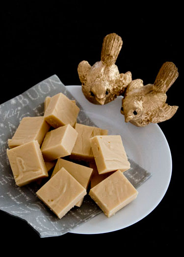 Baileys and White Chocolate Fudge