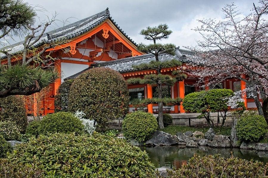 Garden at Sanjusangendo