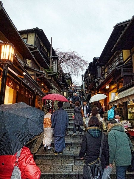 Kiyomizudera Shopping Streets