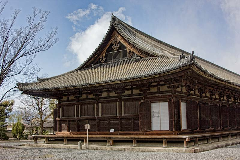 Sanjusangendo temple in Kyoto, Japan. The size and number of gold plated statues in this unassuming hall is incredible.