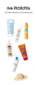 Sun Protection tips and products for travellers