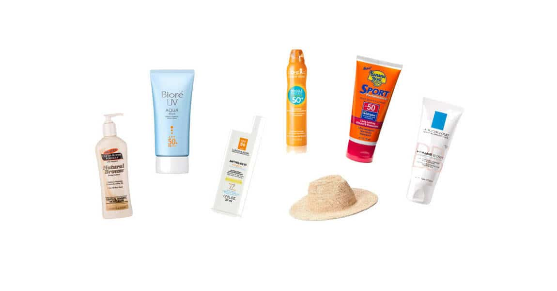 Top sun protection products for travellers