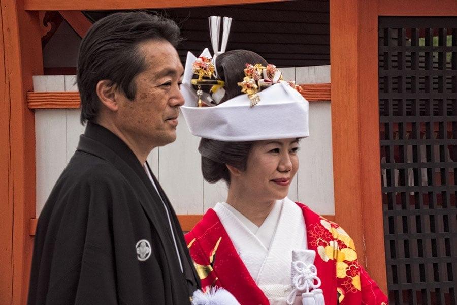 Japanese wedding kimono | www.2aussietravellers.com
