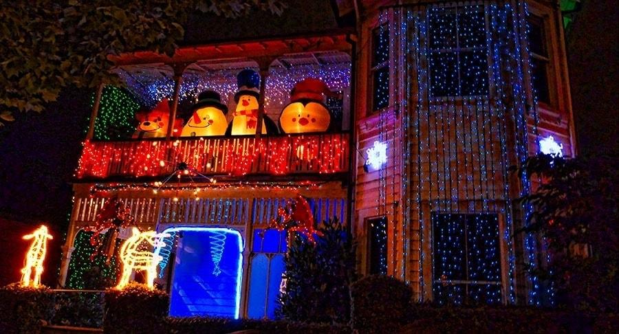Christmas Lights | www.2aussietravellers.com