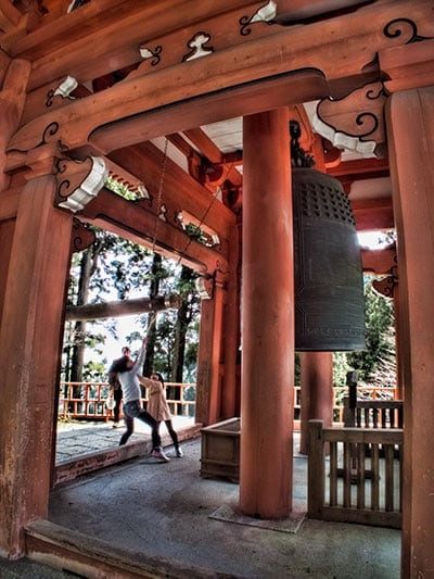 Temple Bell Enryakuji