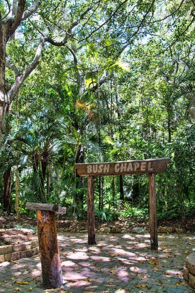 Bush-chapel