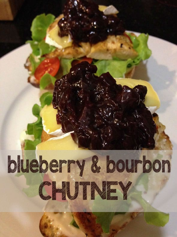 Dress up everything from a homemade burger to Christmas leftovers with this divine Blueberry and Bourbon Chutney