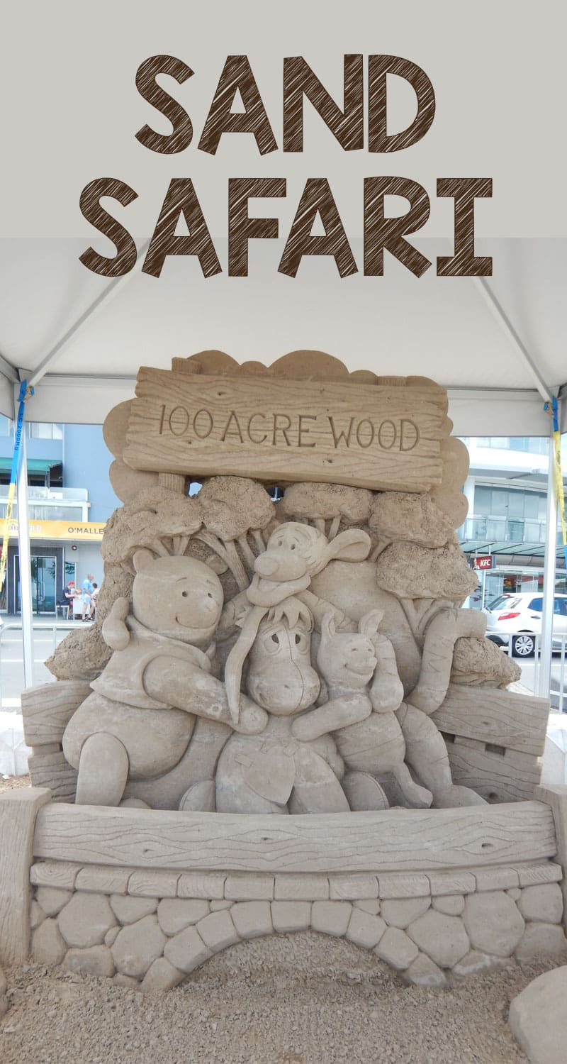 Visit the Sand Safari, sand sculpture event on Australia's Gold Coast