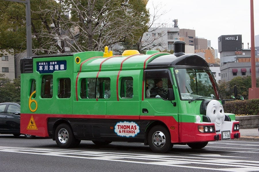 The thomas school bus