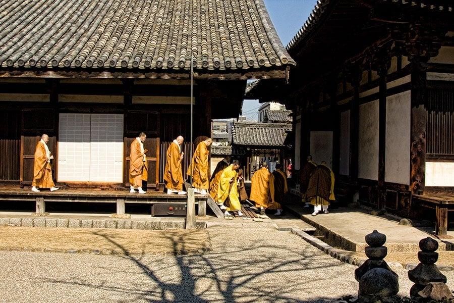 Monks of Gango-ji