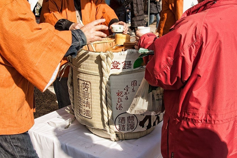 Sake for Setsubun | 2 Aussie Travellers