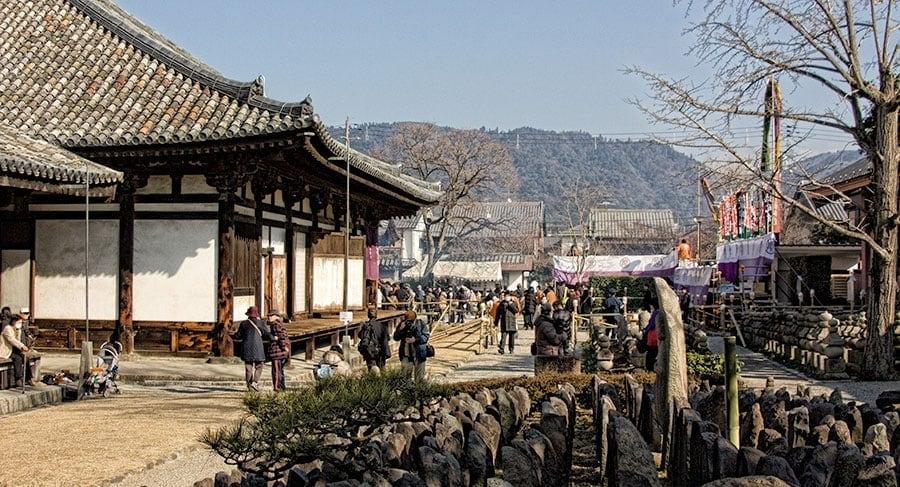 Gango-ji Temple | 2 Aussie Travellers