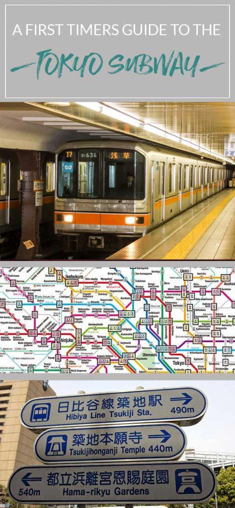 Use the Tokyo Subway like a local, Japan