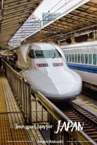 Transport tips for Japan