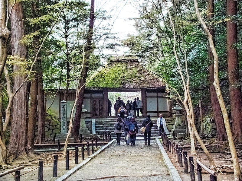Honen-in on the Philosophers Path in Kyoto