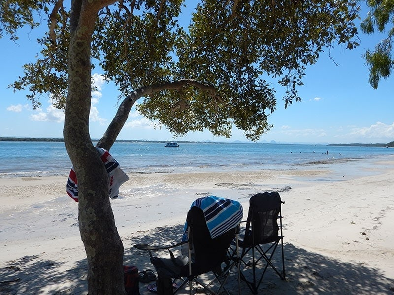 Kakadu Beach on Bribie Island