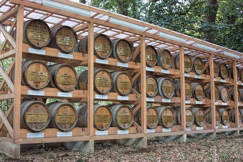 French wine barrels at Meiji Shrine | 2 Aussie Travellers