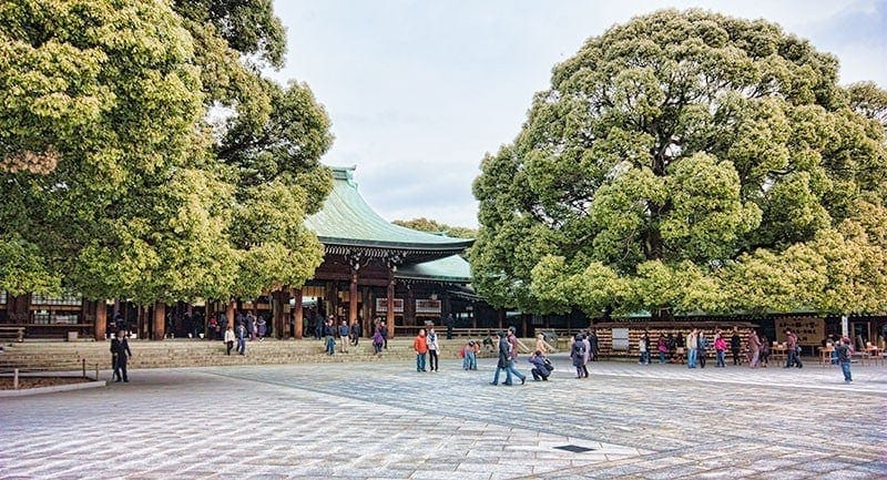 Meiji Shrine | 2 Aussie Travellers