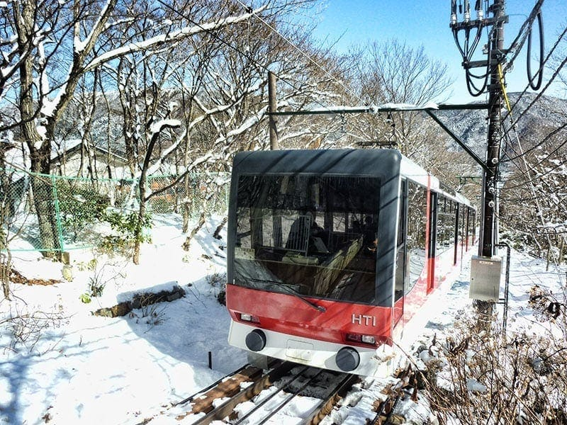Hakone Tozan Cable Car | 2 Aussie Travellers