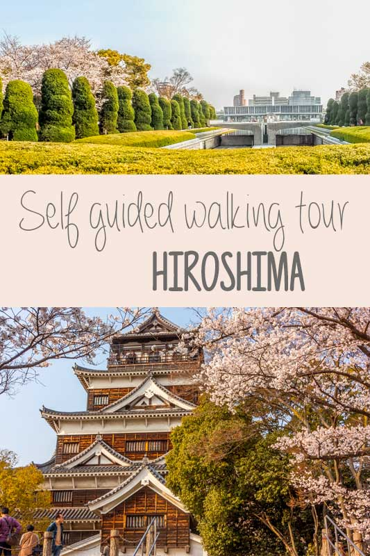 Hiroshima Walking Tour Japan