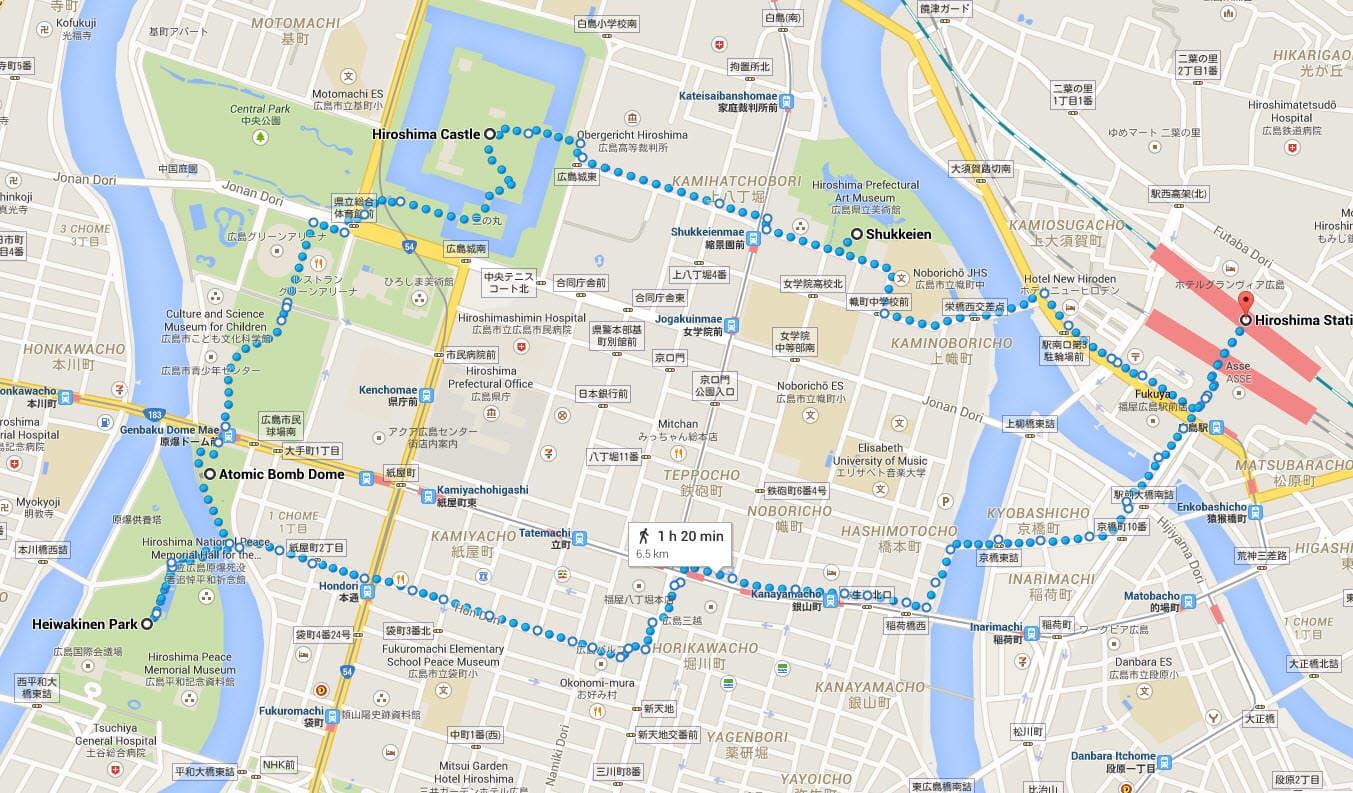 Self Guided Walking Tour
