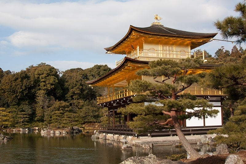 Best temples in Kyoto - Golden Pavillion