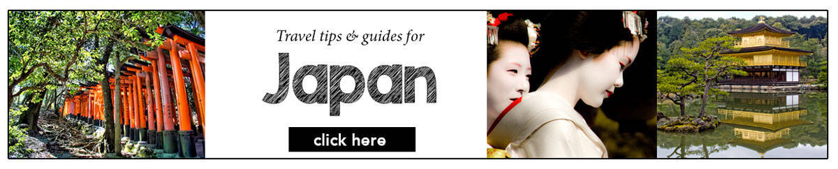 Travel guides and tips for visiting Japan