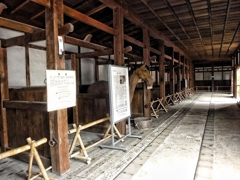 Hikone Castle Stables
