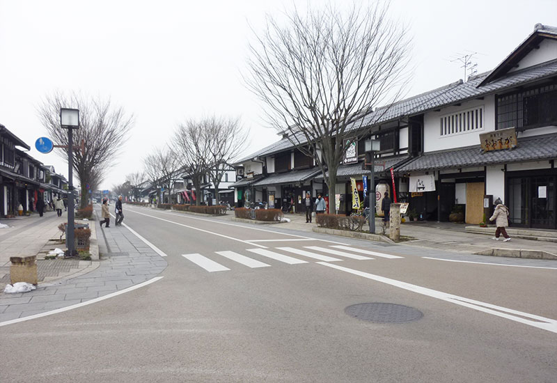 Himeji-jo historic street