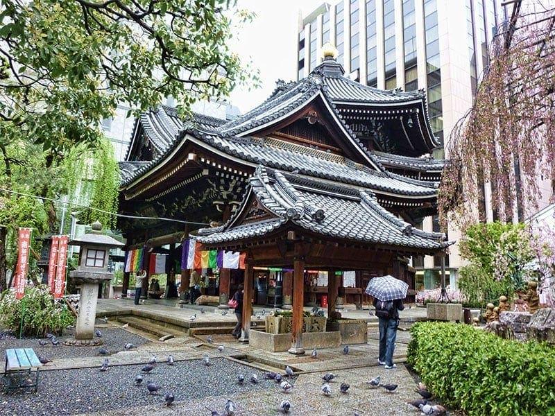 Best temples in Kyoto - Rokkakudo