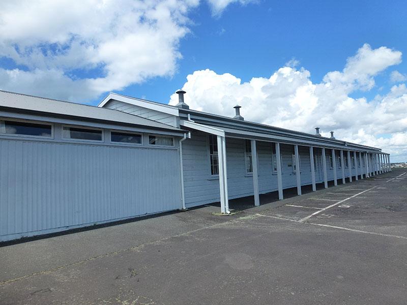 Barracks at North Head