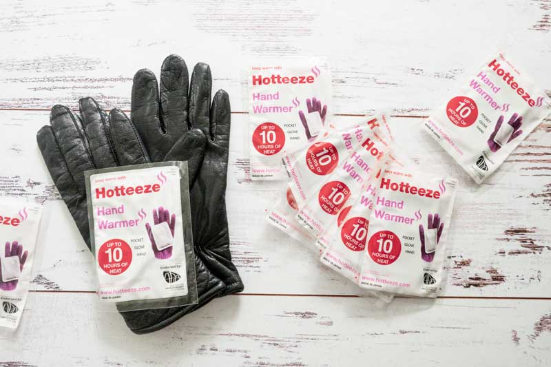 Japanese heat pads for hands