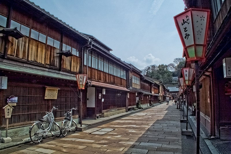 Kanazawa Chaya district