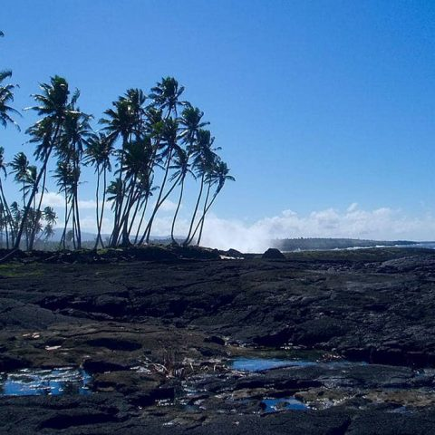 Savaii Island in Samoa