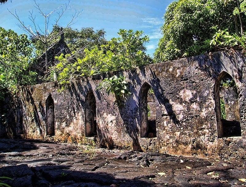 Church in the lava field