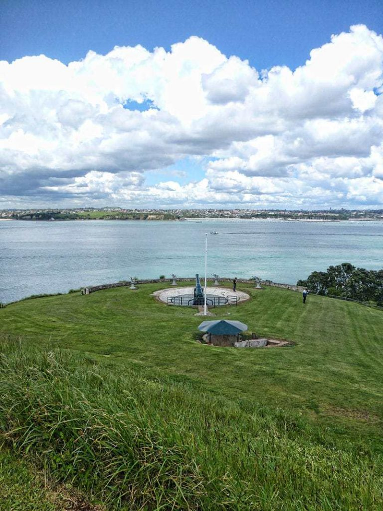 North Head site of historic gun placement