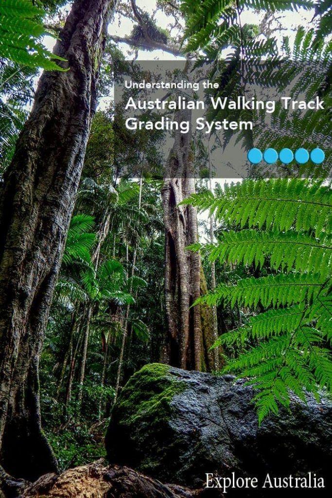 Australian Walking track grading system