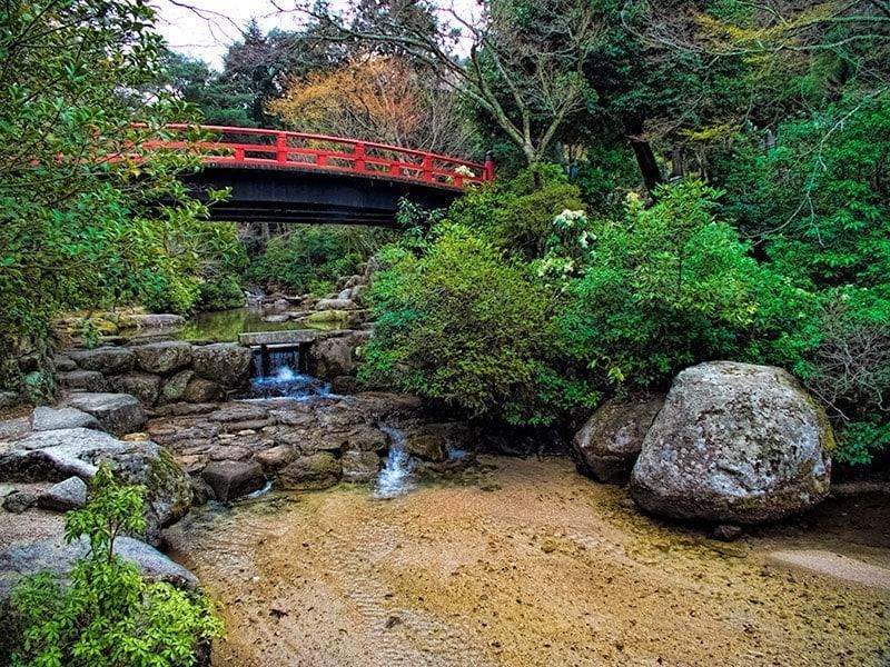 Momijidani Park, Miyajima