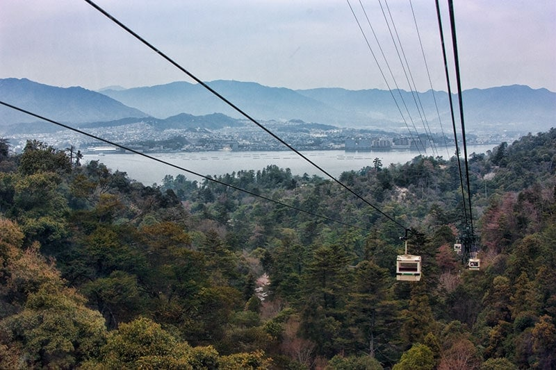 Mt Misen Ropeway, Miyajima